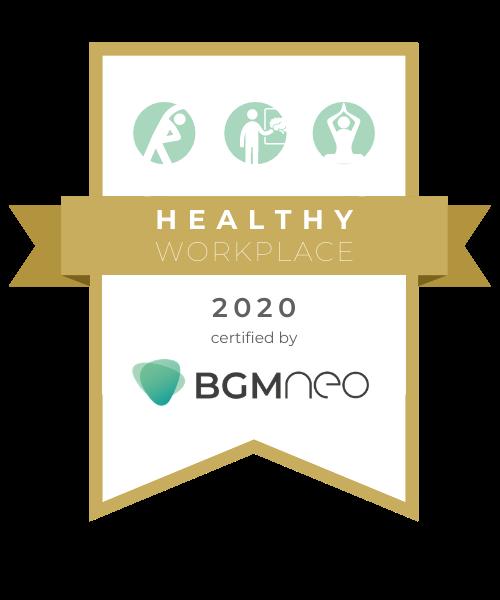 Healthy Workplace Siegel für gesundheitsbewusste Arbeitgeber