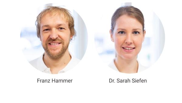 Franz Hammer und Dr. Sarah Siefen von BGM neo